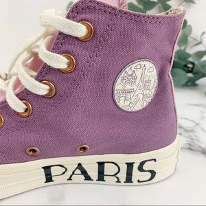 CONVERSE Hightop Chuck Taylor 70 Custom Paris Sz 6